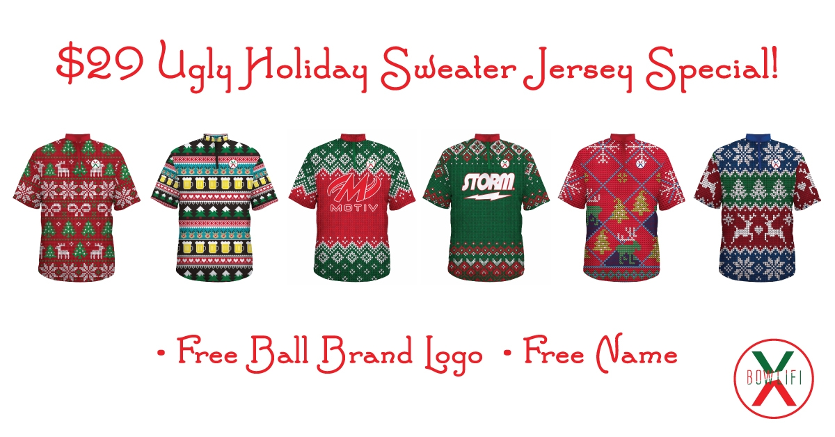 $29 Ugly Sweater Jersey Special