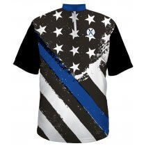 American Blue Line - Black Back - Men's Large
