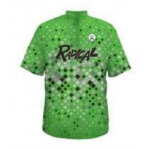 Radical Jersey - Diamond Rush Lt Green - Women's XL